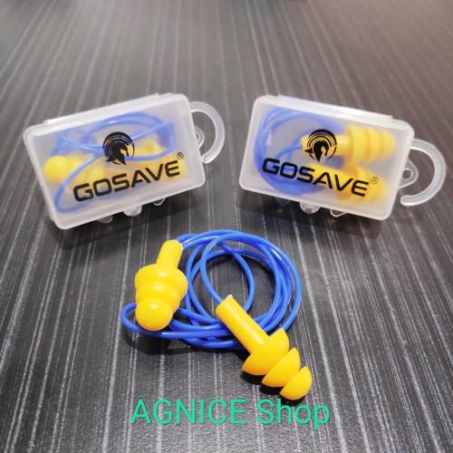 Foto Produk Earplug Ultrafit Corded dengan Kotak Penutup Safety Telinga Ear Plug dari AGNICE Shop