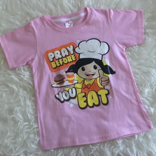 Foto Produk Kaos Anak Perempuan | Kaos Anak Murah | Kaos Anak Pink dari Posikids