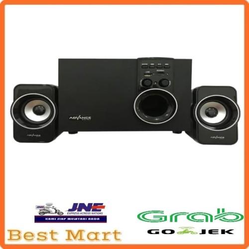Foto Produk Speaker Advance Aktif Portable M180BT Bluetooth Subwoofer BASS T398 dari Best Mart