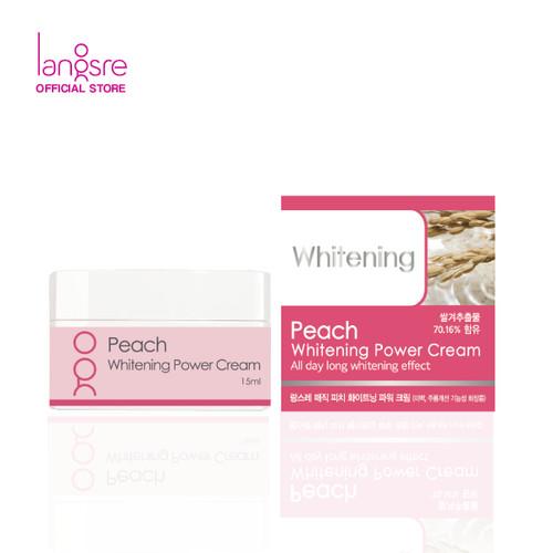 Foto Produk Langsre Peach Whitening Power Cream - Mini dari Langsre