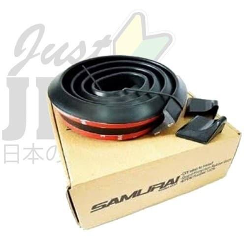 Foto Produk Variasi Ducktail Lis Bagasi Mobil Hitam Samurai Spoiler Duck Tail dari JUST JDM VARIASI MOBIL
