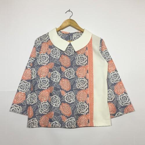 Foto Produk Atasan blouse batik wanita jasmin blouse dari rheazalea