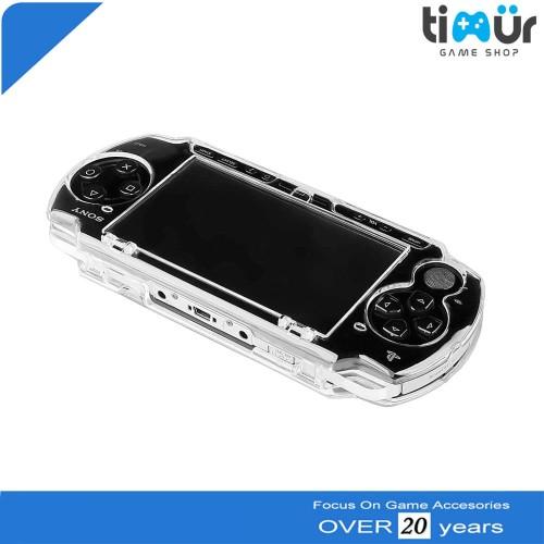 Foto Produk Mika Transparan Crystal Hard Case PSP Slim 2000 3000 dari Timur Game Shop