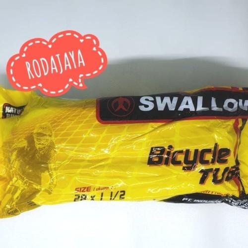 Foto Produk Ban dalam sepeda Swallow 28 x 1 1/2 English Valve dari Rodajaya Olshop