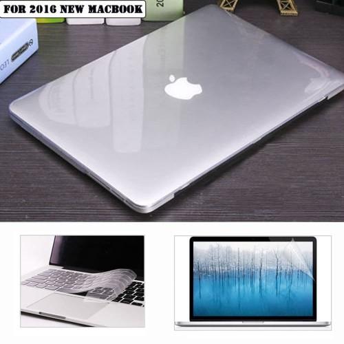 "Foto Produk Hard Case + Screen + Keyboard Protektor MacBook Pro 13"" Touchbar *PAHE dari AppleJets"