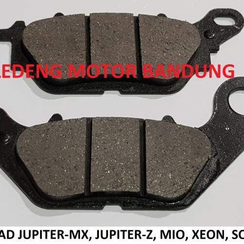 Foto Produk Murah Disc Pad MX Jupiter Z Mio Xeon Soul GT Kampas Rem Cakram Lokal dari Ledeng Motor Bandung