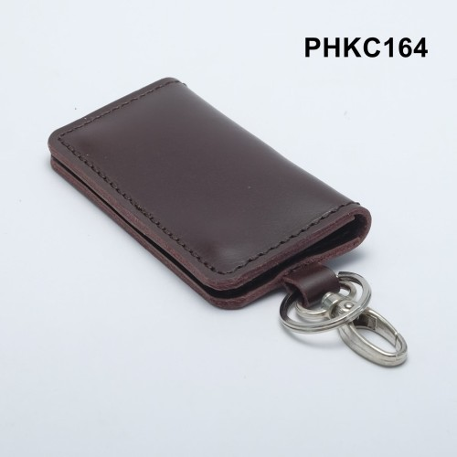 Foto Produk dompet stnk kulit asli - gantungan kunci mobil motor coklat PHKC164 dari philo