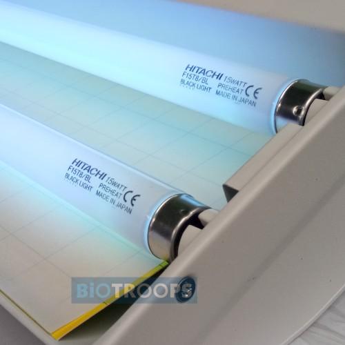 Foto Produk Fly Catcher Insect Trap Lampu Perangkap Serangga Terbang 2 Lampu dari mas mas harum