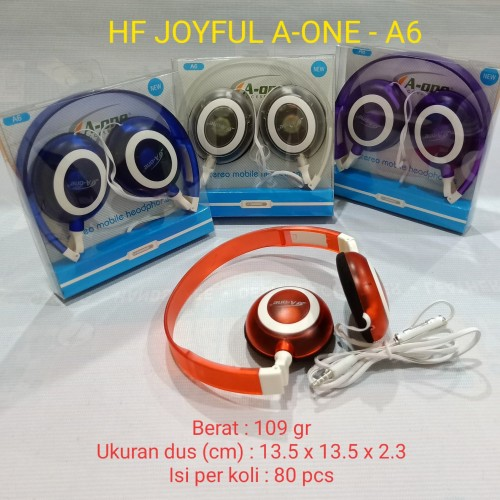 Foto Produk Handphone / Handset / Handfree Bando Joyful A6 dari juragan kado