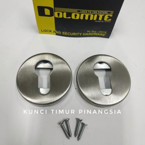 Foto Produk penutup lubang kunci pintu/ring kunci pintu/cover cylinder murah dari Kunci Timur Pinangsia