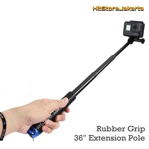 Foto Produk Rubber Grip Monopod GoPro YI Tongsis Action Cam Extension Pole Monopod dari HitStore_Jakarta