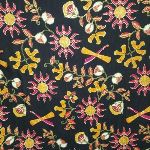 Foto Produk kain Batik Ambon Hitam motif dari tokokoko