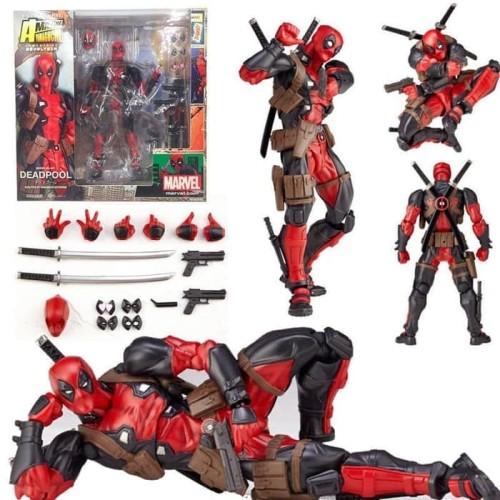Foto Produk Revoltech Deadpool Action Figure Amazing Yamaguchi dari Waroeng Figure