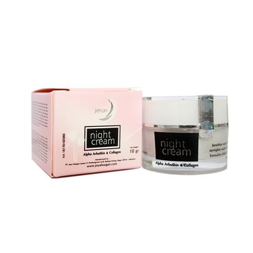 Foto Produk Krim wajah JEHAN Night Cream dari CV Herbal House Lestari