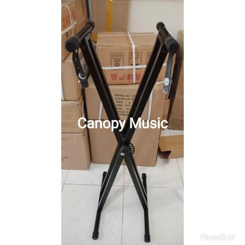 Foto Produk Stand Keyboard Double dari canopy music