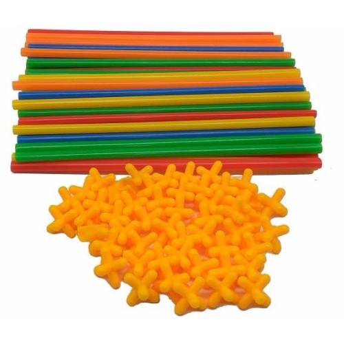 Foto Produk Mainan Kreativitas Bangunan 4D - 88003 - Multi-Color dari web komputindo