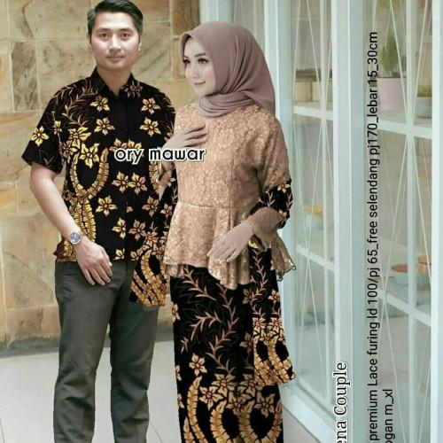 Foto Produk Outfit Couple Modern, Outfit Kondangan Kebaya dan Hem Batik Murah dari Aneka Batik Modern