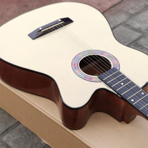 Foto Produk Gitar murah Akustik cutway natural bandung dari Rock Line Music Bandung
