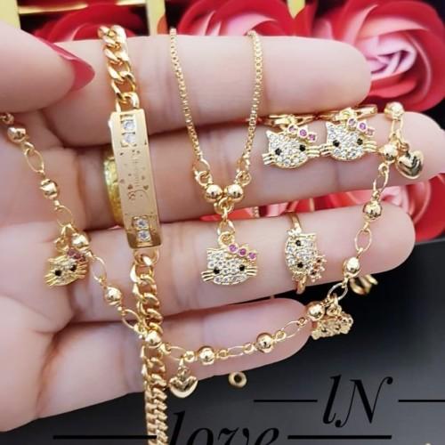 Foto Produk Xuping set perhiasan lapis emas 24k 1622 dari kevin joshe perhiasan xuping dan titanium