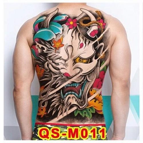 Foto Produk Tato/Tatto temporary/Tatto temporer/ Tatto punggung 36x48 cm GROSIR dari Abadi Foto