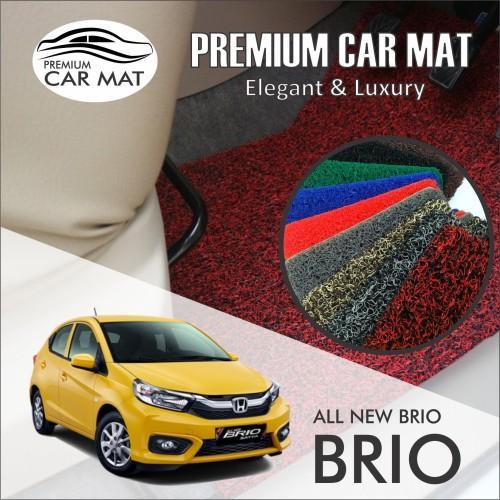Foto Produk Karpet Mobil Mie Premium ALL NEW BRIO Non Bagasi 1 Warna - BLACK dari Premium Car Mat