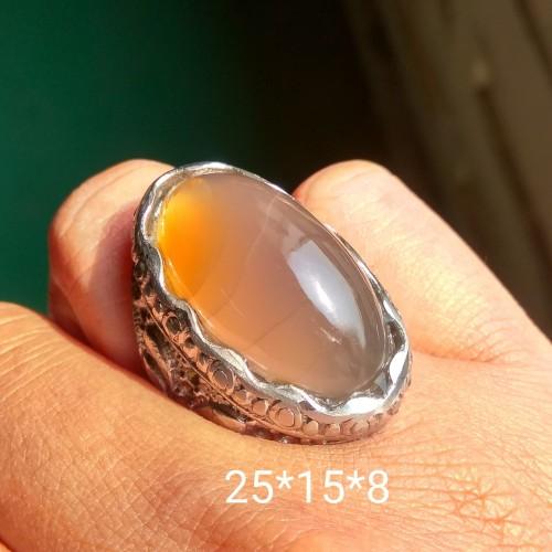 Foto Produk cincin batu pandan kapas n serat alam dari AYAH RANIA Gemstone