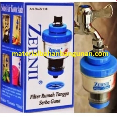 Foto Produk PAKET LENGKAP ZERNI filter air TERMURAH GRATIS REFILL tambahan 1 tahun dari Toko Citra Bangunan