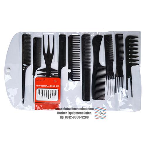 Foto Produk Sisir Set Hair Styling Untuk Salon Dan Barbershop dari alat cukur rambut