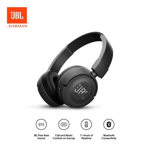Foto Produk JBL T450BT Headphone - Black dari JBL Official Store