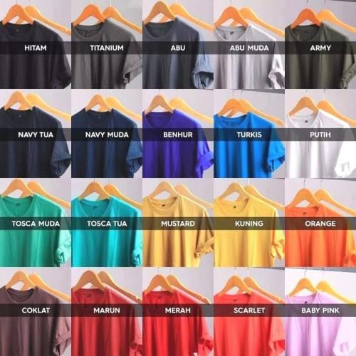Foto Produk Kaos Polos Katun Bambu Organik (Cotton Bamboo T-Shirt Organic) dari Pantara Store