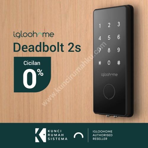 Foto Produk (NEW) Igloohome Smart Deadbolt 2S - smart lock, kunci rumah digital dari Igloohome