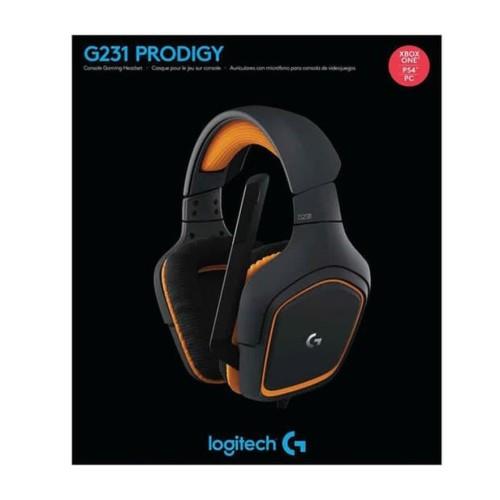 Foto Produk STOK TERBARU Logitech G231 Prodigy Gaming Headset Audio BYhe1532 dari Humaniora0y3