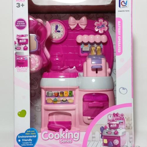 Foto Produk Mainan Anak - Cooking Series Dus Kitchen Set Toaster Roti Panggang dari Danzel Corner