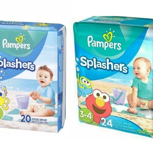 Foto Produk Pampers Splashers Swim Diaper SATUAN SMALL MEDIUM LARGE 1-2 th 3-4 - S dari Ulil
