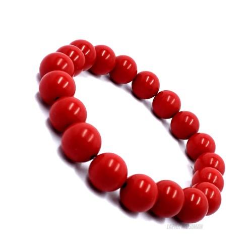 Foto Produk GELANG BATU RED MARJAN ORIGINAL STONE BRACELET GUARANTEE dari Lapak Musiman