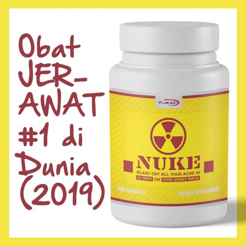 Foto Produk T-Kio NUKE - obat jerawat #1 di Dunia dan Akhirat dari T-Kio Shop