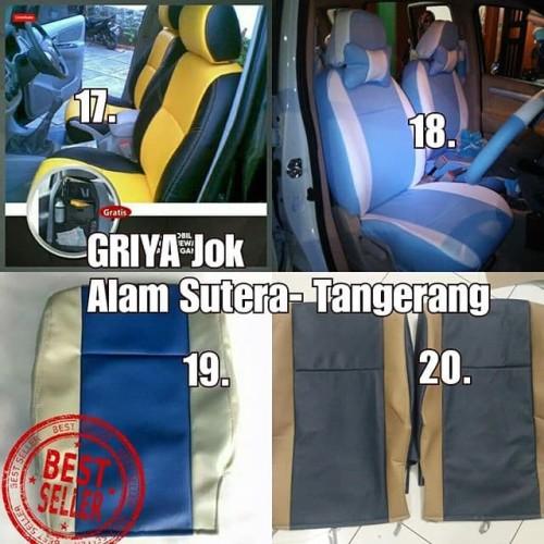 Foto Produk Sarung Jok Granmax Sarung Jok Luxio Sarung Jok Evalia Fullset dari GRIYA JOK MOBIL
