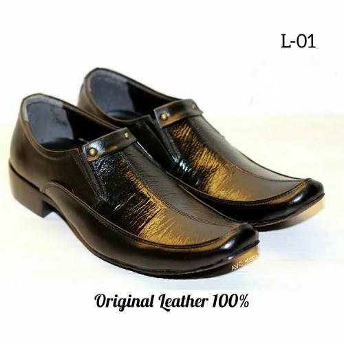 Foto Produk Sepatu Pantofel Kulit Asli Pria Murah dari AVC_Store