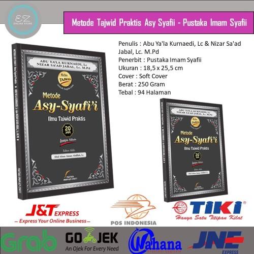 Foto Produk [Best Seller] Buku Metode Tajwid Praktis Asy Syafi'i | Metode Tajwid dari EZY Moslem Store
