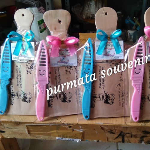 Foto Produk Souvenir talenan + pisau/souvenir Jakarta/souvenir pernikahan dari purmata souvenir