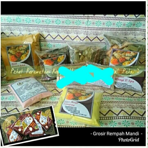 Foto Produk (Kemasan 1x Pake) Paket Perawatan Rempah Wangi - Rempah Mandi Ratus 1x dari SrikandiTradisionalspa
