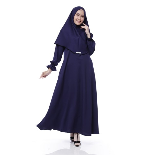 Foto Produk Setelan Gamis Original| Daily Syari | Syari Wanita Original - Maroon dari Tazkia Hijab Store