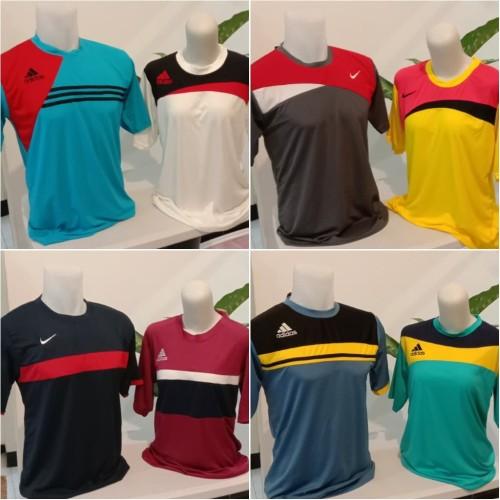 Foto Produk Baju Kaos Olahraga Jersey Bola Futsal Adidas Nike Murah Meriah dari MyBeauty Official Shop