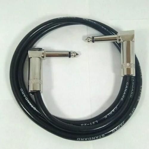 Foto Produk kabel jumper efek gitar 60cm jack L dari Af88
