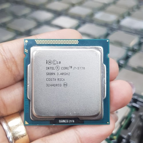 Foto Produk processor i7 3770 tray + fan ori 1155 dari iconcomp