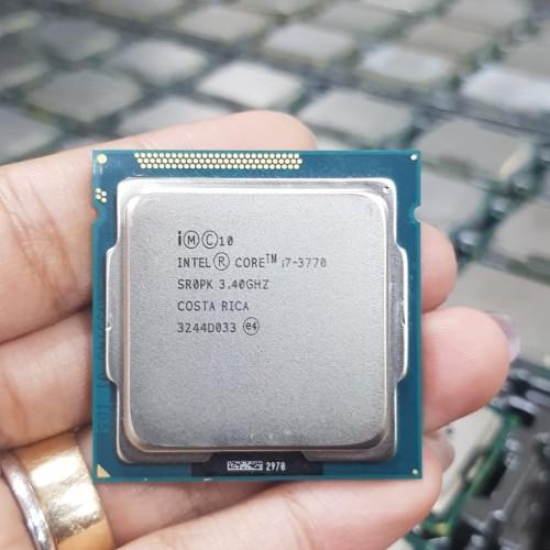 Foto Produk processor intel core i7 3770 tray tanpa fan dari iconcomp