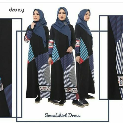 Jual Baju Gamis Deenay Sweetshirt Dress Deenay Kab Ciamis C Nc Shop Tokopedia