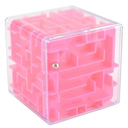 Foto Produk Celengan 3D Ball Maze Labirin Speed Puzzle Cube Kotak Tabungan dari lbagstore