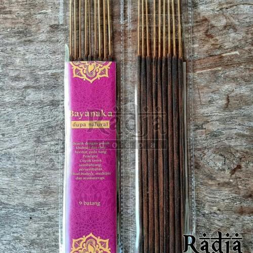 Foto Produk Dupa Hio Ritual Cendana Gaharu Natural BAYANAKA 2 jam 9 batang dari Radja Doepa