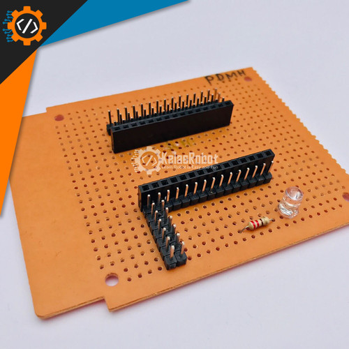 Foto Produk DIY Shield NodeMCU Amica V3 CP2102 WIFI (Handmade Admin) dari Kelas Robot